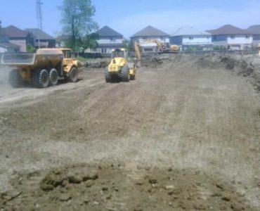 Excavation and Site Preparation (Senator Homes)