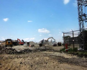 Demolition for Municipal Road Addition