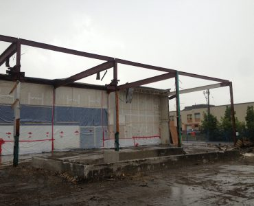 Commercial Strip Mall Demolition (LCBO)