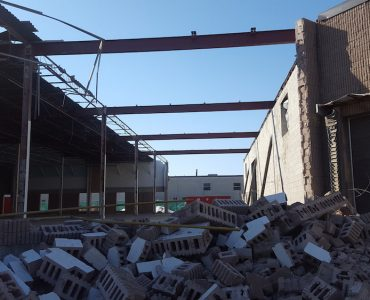 Separation and Demolition of Existing Industrial Building