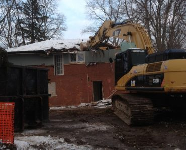 Single-Unit Residential House Demolition