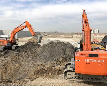 Earthworks for an Audience for MGI Construction Corp.